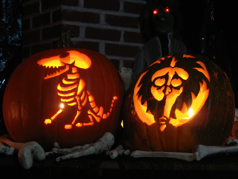 Pumpkin Carving Patterns And Stencils