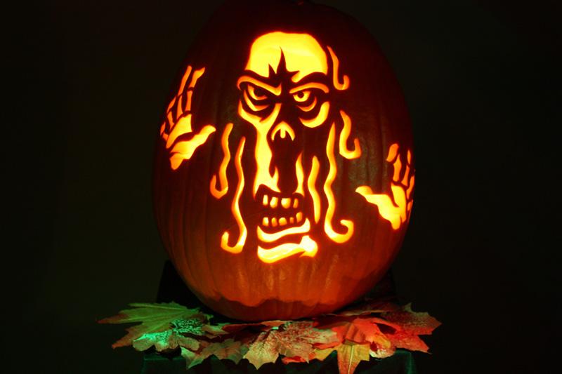 Best cool creative scary halloween pumpkin carving ideas