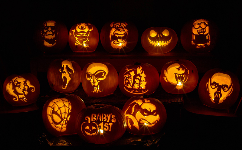 Pumpkin Carving Patterns and Stencils Zombie Pumpkins Galleries
