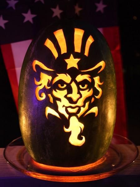 Pumpkin carving patterns and stencils zombie pumpkins