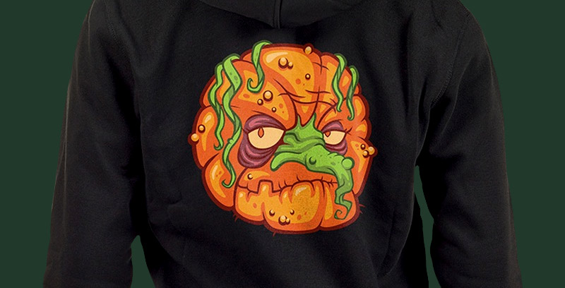 Coven of the Zombie Pumpkins! Hoodie