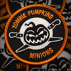 Zombie Pumpkins Minion Patch