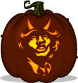Angus Young pumpkin pattern - AC/DC