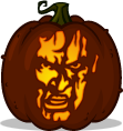 Ash pumpkin pattern - The Evil Dead