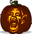 Bat Boy pumpkin pattern - Weekly World News