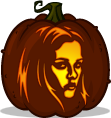 Bella Swan pumpkin pattern