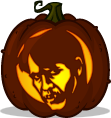 Bill Compton pumpkin pattern - True Blood