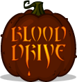 Blood Drive pumpkin pattern