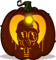 Harry Warden pumpkin pattern