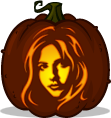 Buffy pumpkin pattern