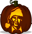 Clark Griswold pumpkin pattern - National Lampoon's Christmas Vacation