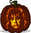 Alice Cooper pumpkin pattern
