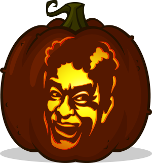David S. Pumpkins pumpkin pattern