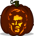 Dexter Morgan pumpkin pattern