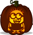 Despicable Me Minion pumpkin pattern - Despicable Me