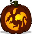 Dragon Flight pumpkin pattern