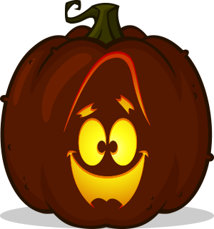 Patrick Face pumpkin pattern