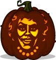 Dr. Frank-N-Furter pumpkin pattern - The Rocky Horror Picture Show