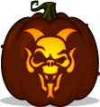 Gargoyle Hellion pumpkin pattern
