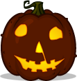 Halloween Movie Jack pumpkin pattern