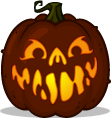 Hammy pumpkin pattern