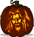 Hellbilly Deluxe pumpkin pattern
