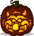 My Pet Monster pumpkin pattern