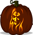 Otis pumpkin pattern - House of 1000 Corpses