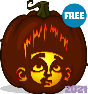 ParaNorman pumpkin pattern