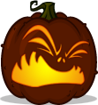 Puking Pumpkin pumpkin pattern