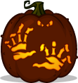 Creature Reacher pumpkin pattern