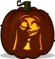 Sally pumpkin pattern