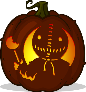 Sam pumpkin pattern - Trick 'r Treat