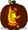 Scooby-Doo pumpkin pattern