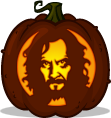Sirius Black pumpkin pattern
