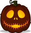 Jack (happy) pumpkin pattern