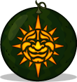 Solar Smile pumpkin pattern