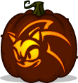 Sonic the Hedgehog pumpkin pattern