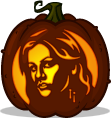 Sookie Stackhouse pumpkin pattern