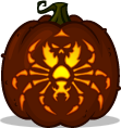 Spiteful Spider pumpkin pattern