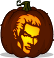 Spike pumpkin pattern - Buffy the Vampire Slayer