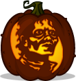 Michael Jackson pumpkin pattern - Thriller
