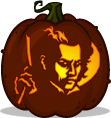 Sweeney Todd pumpkin pattern