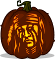 Tonto pumpkin pattern - The Lone Ranger
