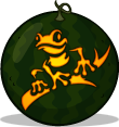 Tree Frog pumpkin pattern