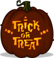 Trick or Treat pumpkin pattern