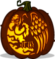 Vulture Shock pumpkin pattern