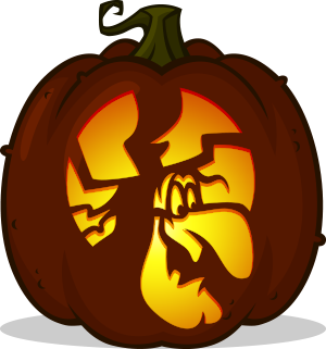 Witch Hazel pumpkin pattern - Looney Tunes