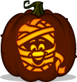 Fruity Yummy Mummy pumpkin pattern