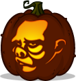 Doctor Bernardi pumpkin pattern - The Twilight Zone